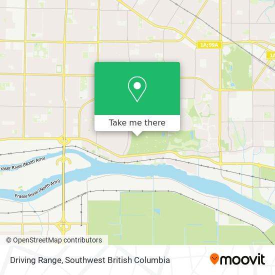 Driving Range map