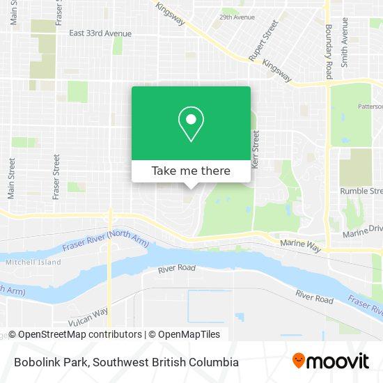 Bobolink Park map