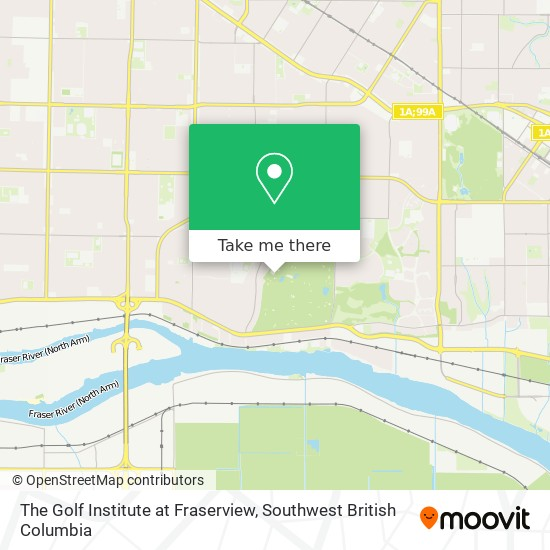 The Golf Institute at Fraserview plan