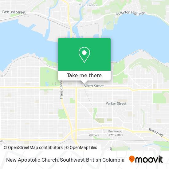New Apostolic Church map