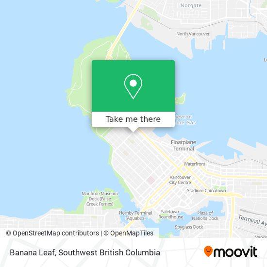Banana Leaf map