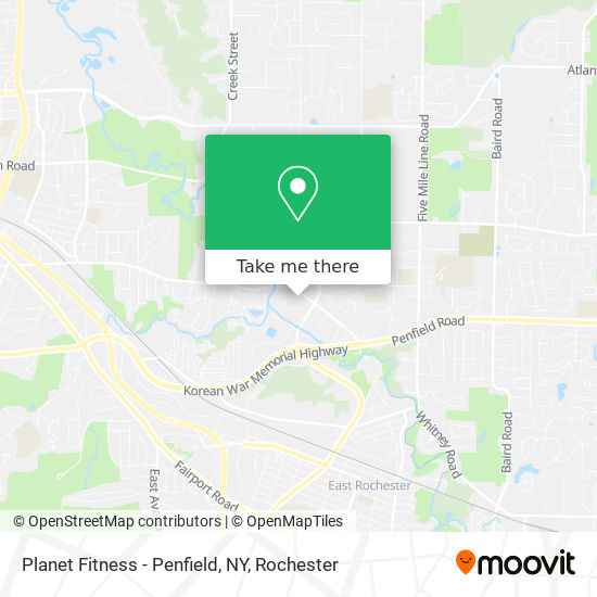 How To Get To Planet Fitness Penfield Ny In Rochester By Bus Moovit