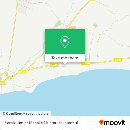 Semizkumlar Mahalle Muhtarlığı plan