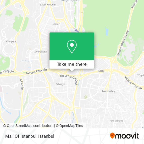 Mall Of İstanbul map