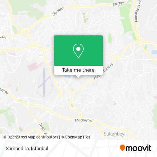 Samandıra map