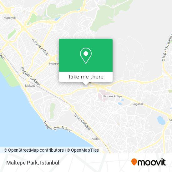Maltepe Park Karte