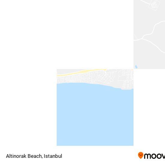 Altinorak Beach Karte