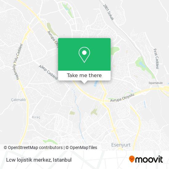 Lcw lojistik merkez Karte
