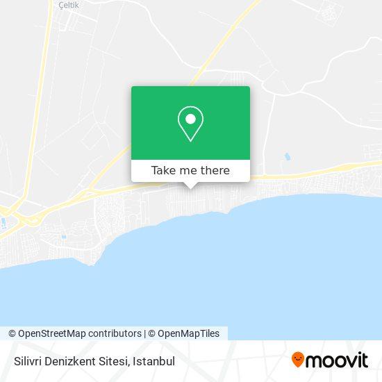 Silivri Denizkent Sitesi plan