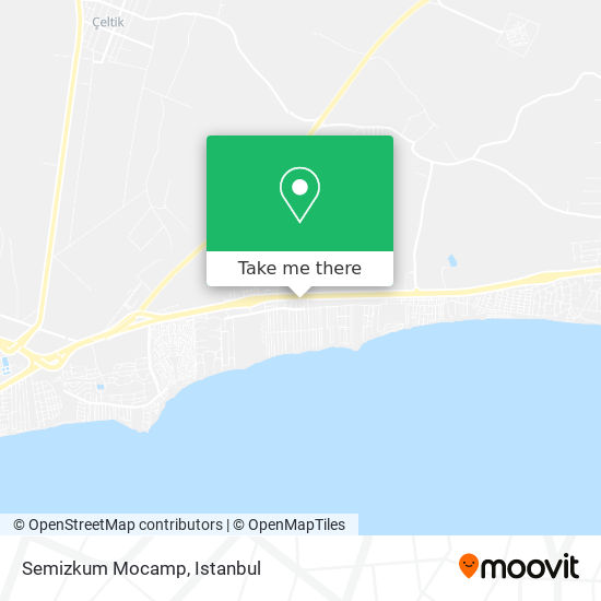 Semizkum Mocamp plan