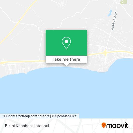 Bikini Kasabası Karte