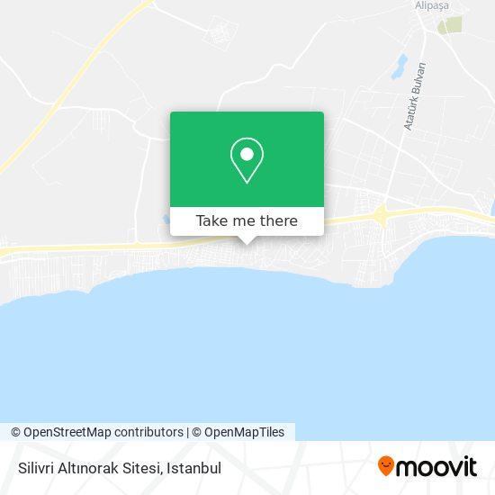 Silivri Altınorak Sitesi Karte