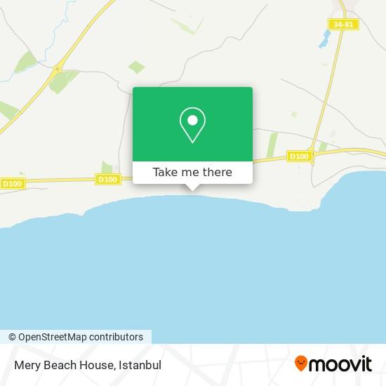 Mery Beach House Karte