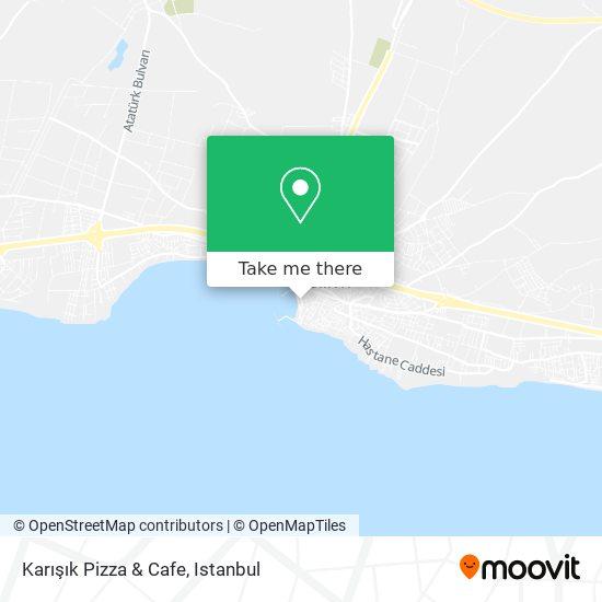 Karışık Pizza & Cafe map