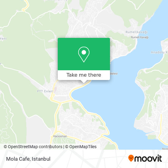 Mola Cafe map