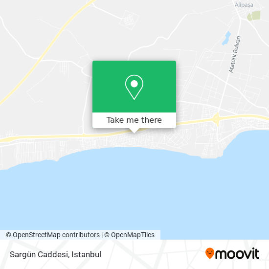 Sargün Caddesi Karte