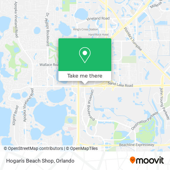How to get to Hogan's Beach Shop in Orlando by Bus   Moovit