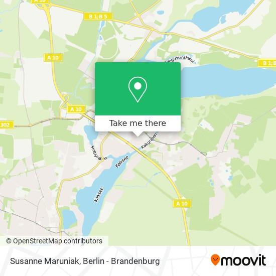 Mapa Susanne Maruniak