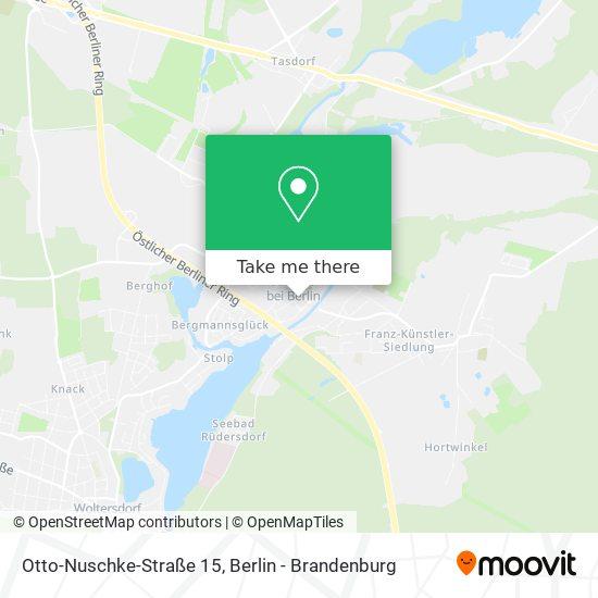 Mapa Otto-Nuschke-Straße 15