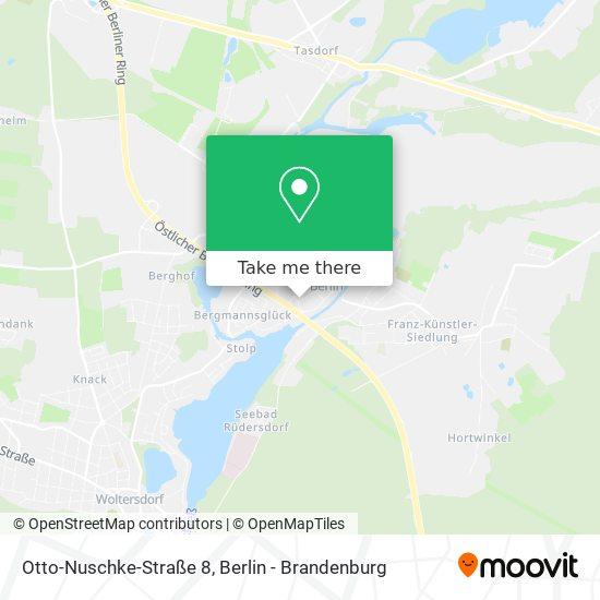 Mapa Otto-Nuschke-Straße 8
