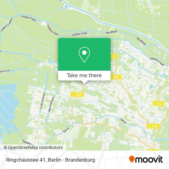 Карта Ringchaussee 41