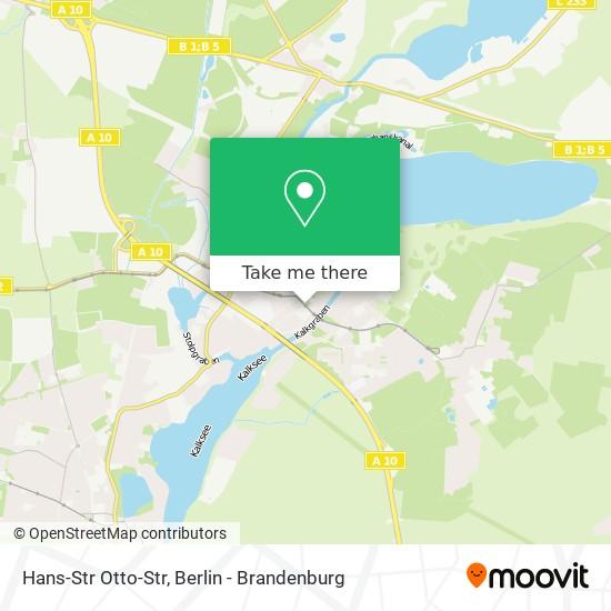 Mapa Hans-Str Otto-Str