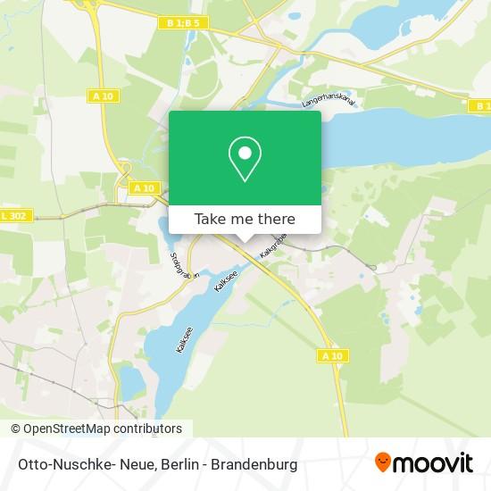 Mapa Otto-Nuschke- Neue