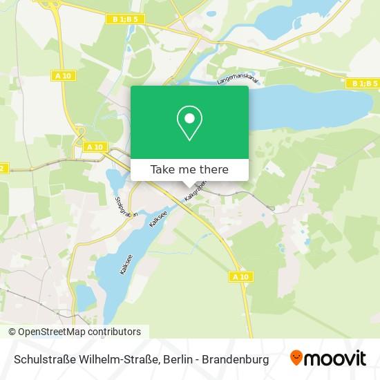 Mapa Schulstraße Wilhelm-Straße