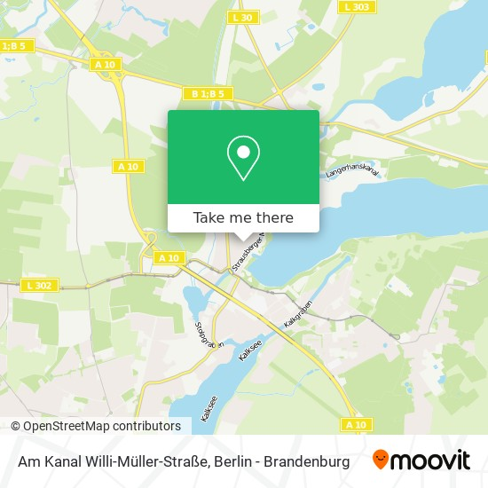 Am Kanal Willi-Müller-Straße map