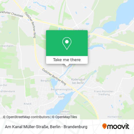 Am Kanal Müller-Straße map