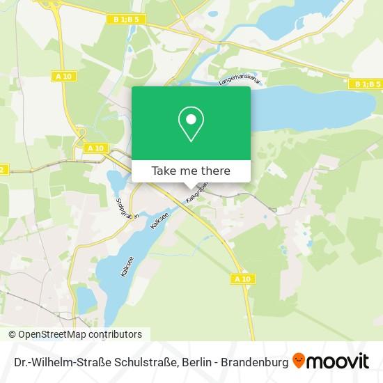 Mapa Dr.-Wilhelm-Straße Schulstraße