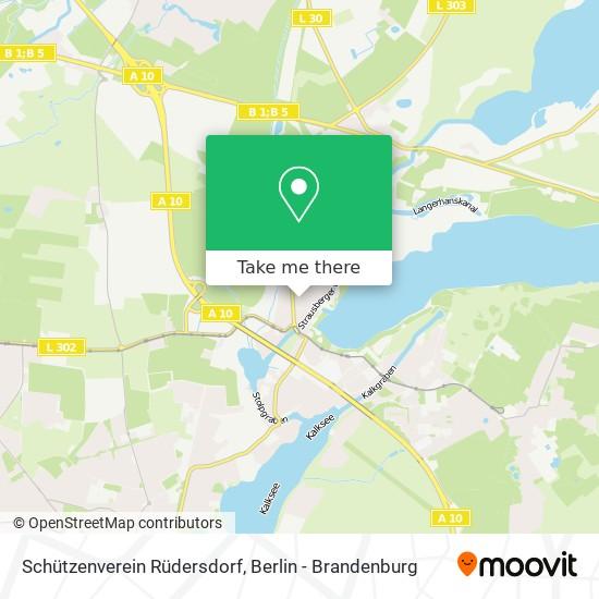Schützenverein Rüdersdorf map