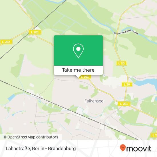 Карта Lahnstraße