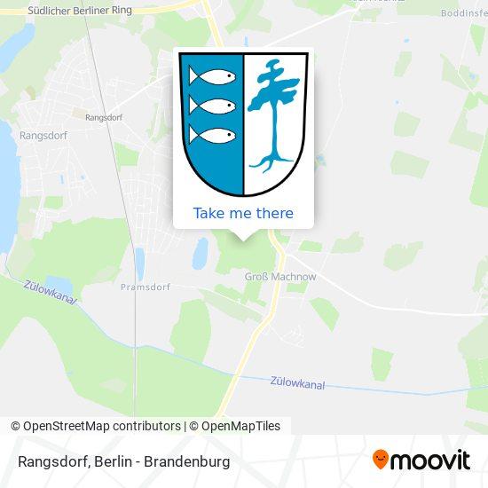 Mapa Rangsdorf