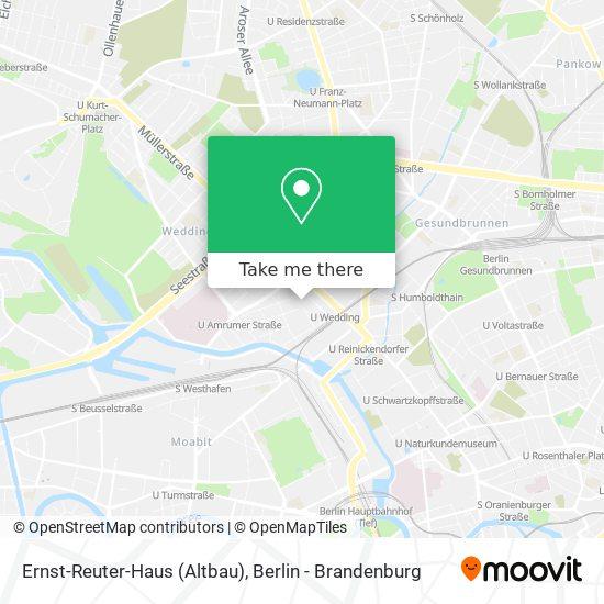 Mapa Ernst-Reuter-Haus (Altbau)