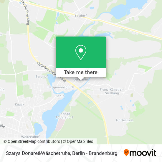 Mapa Szarys Donare&Wäschetruhe