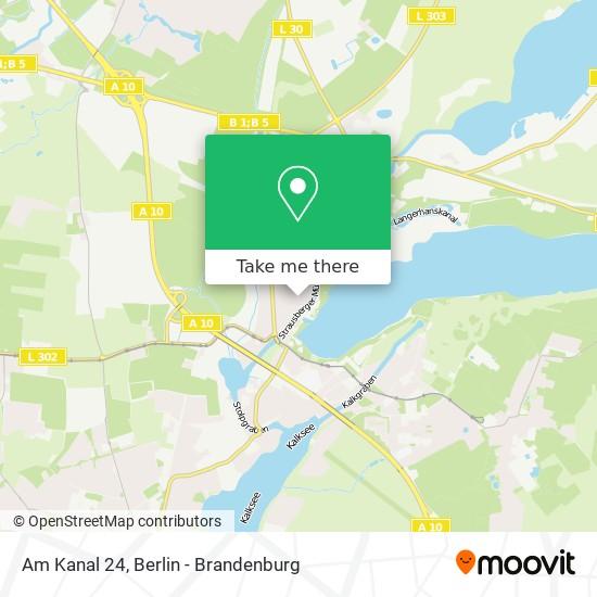 Am Kanal 24 map