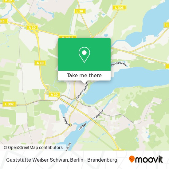 Gaststätte Weißer Schwan map