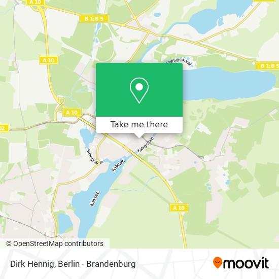 Mapa Dirk Hennig