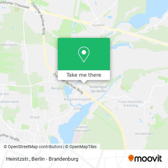 Heinitzstr. map