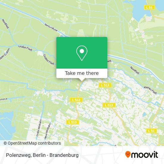 Карта Polenzweg