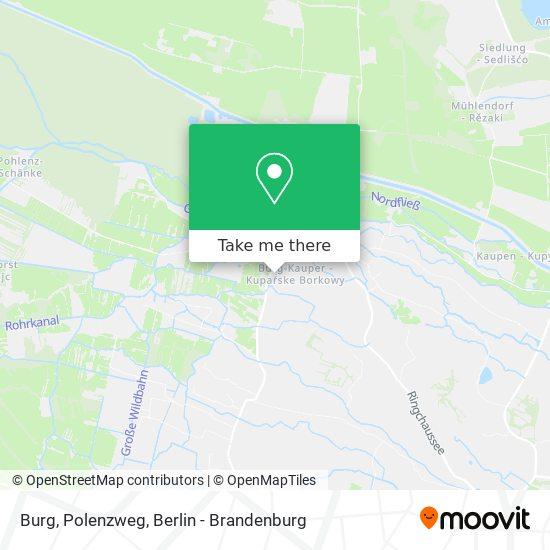 Карта Burg, Polenzweg