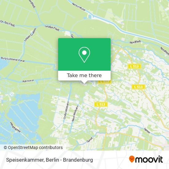 Карта Speisenkammer