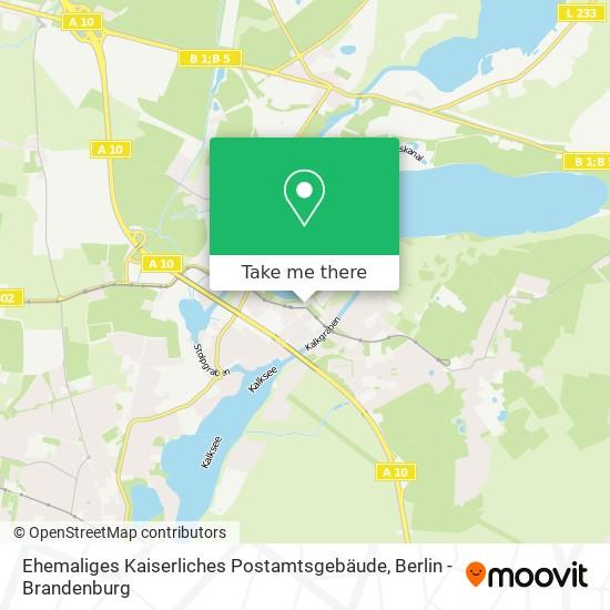 Ehemaliges Kaiserliches Postamtsgebäude map