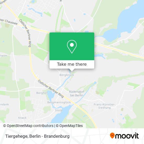Tiergehege map
