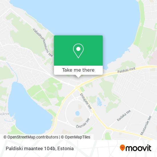 Paldiski maantee 104b map