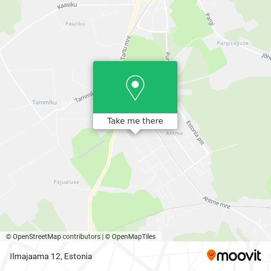 Ilmajaama 12 map