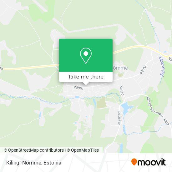 Kilingi-Nõmme map