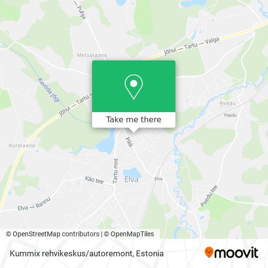 Kummix rehvikeskus/autoremont map
