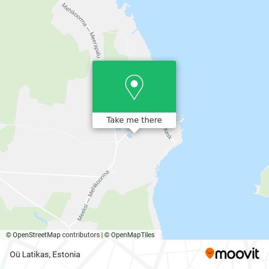 Oü Latikas map